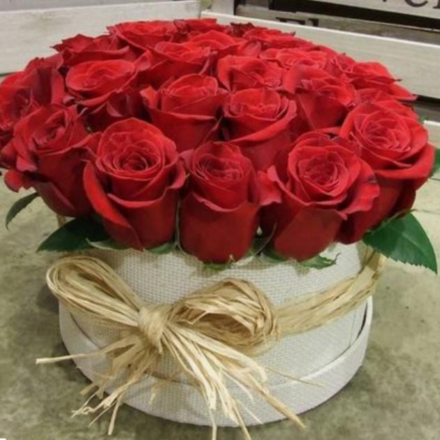 "Коробка ""21 роза"""