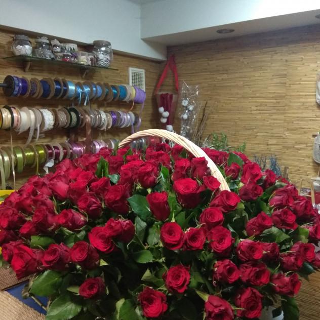 Подари 301 розу!