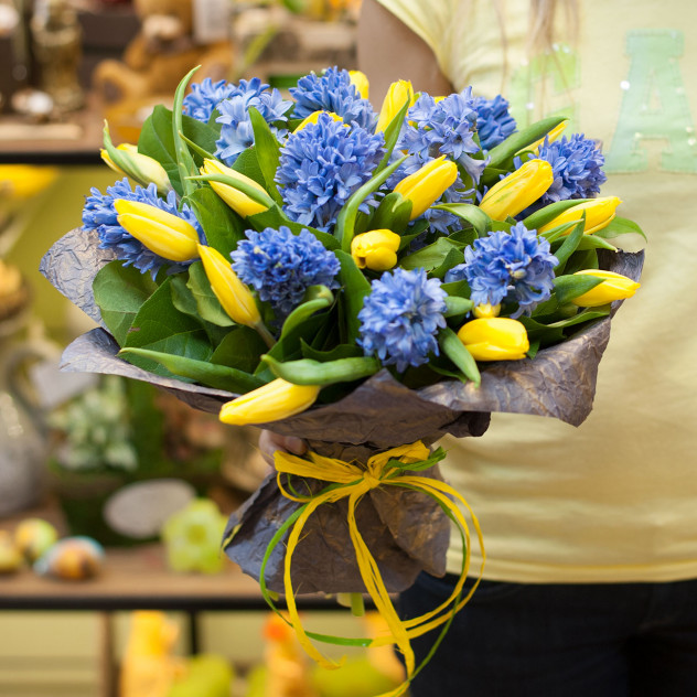 "Букет цветов ""Запах весны"""