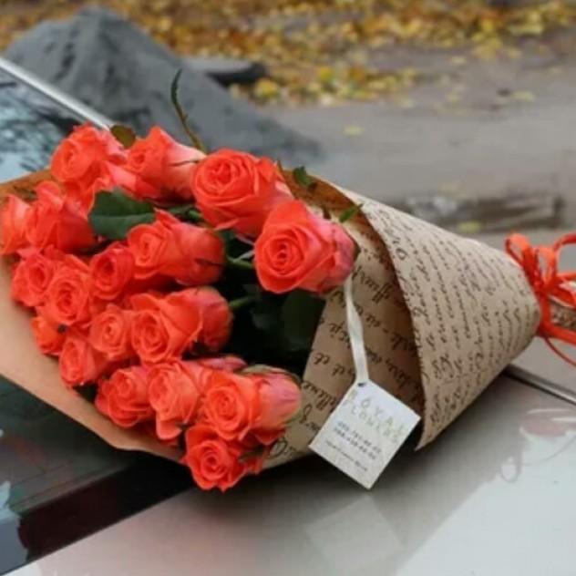 Букет из розы.