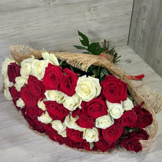 Микс розы.