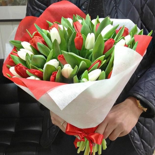 Микс тюльпанов.