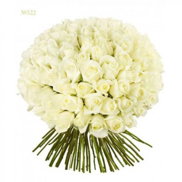 "101 белых роз ""Белые Ночи"""