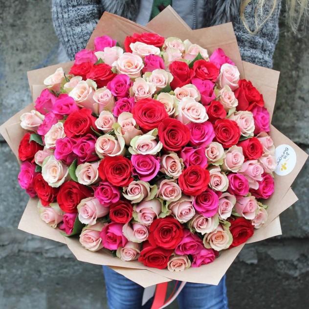 Заказ цветов розы не букеты от 9 шт — pic 5