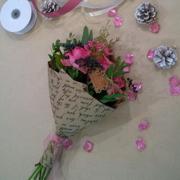 "Bouquet ""Brightness"""