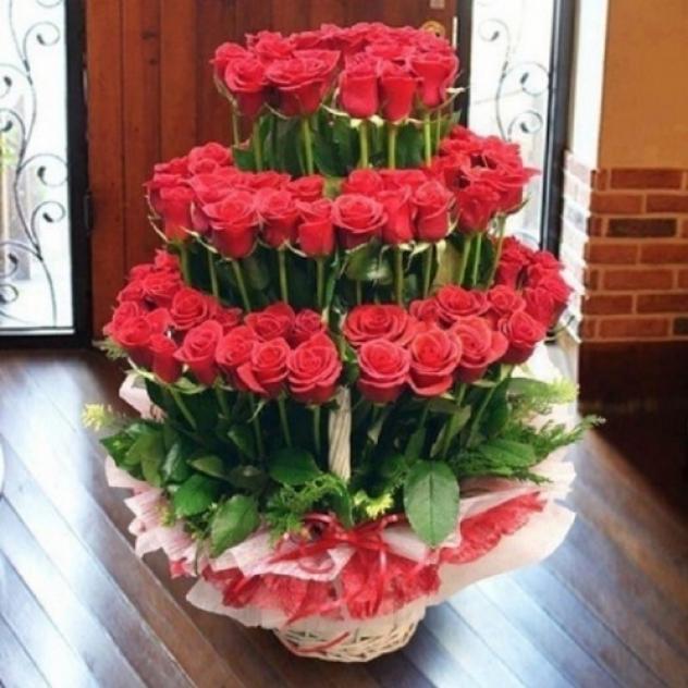 Фонтан роз