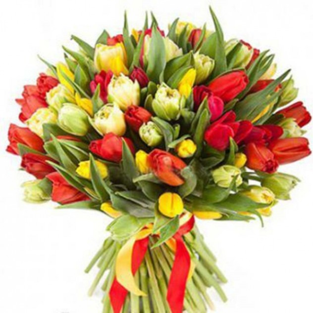 Bouquet of tulips number 8