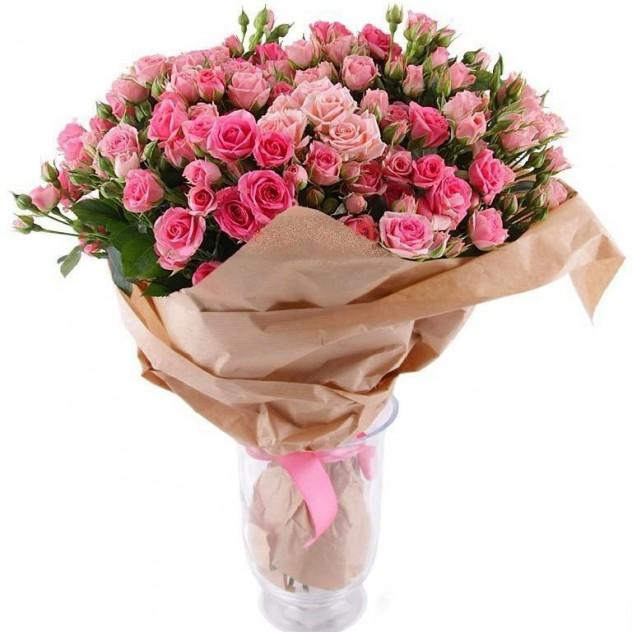 Bouquet of spray roses No. 6