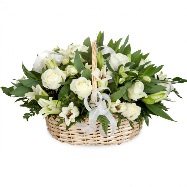 Basket of lilies number 2