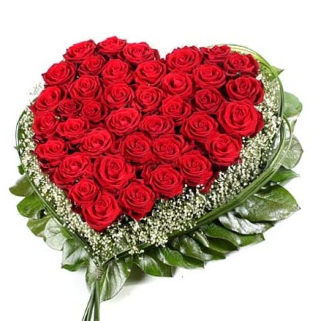 """Arrangement of roses """"Valentine"""""""