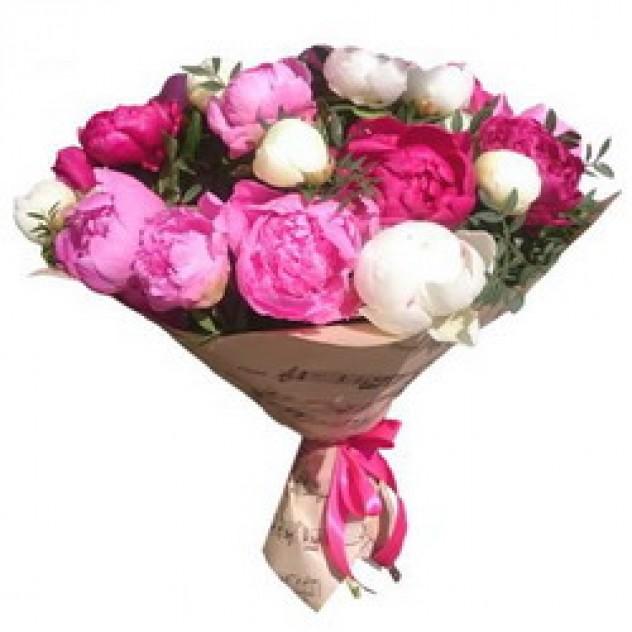 Bouquet of peonies No. 7