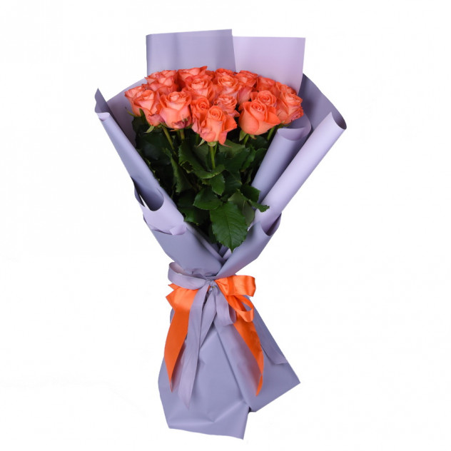 Bouquet of orange roses No. 2