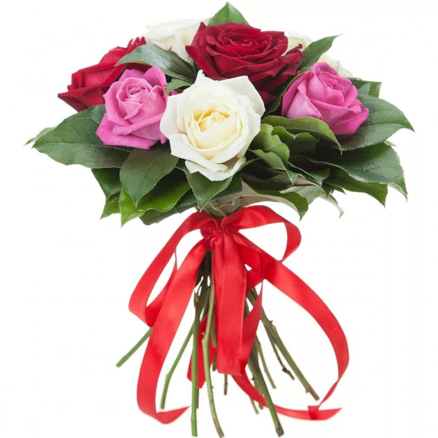 Bouquet of 7 roses No. 2