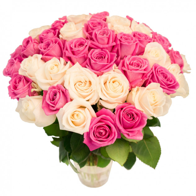 Bouquet of 55 roses No. 4