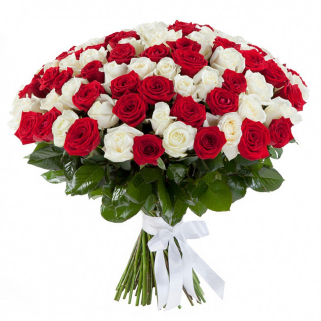 Bouquet of 101 roses № 2