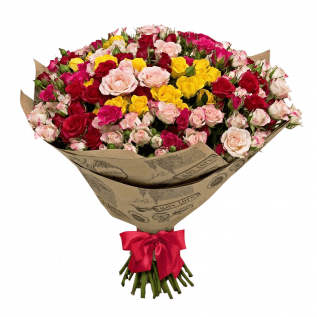Bouquet of spray roses No. 2