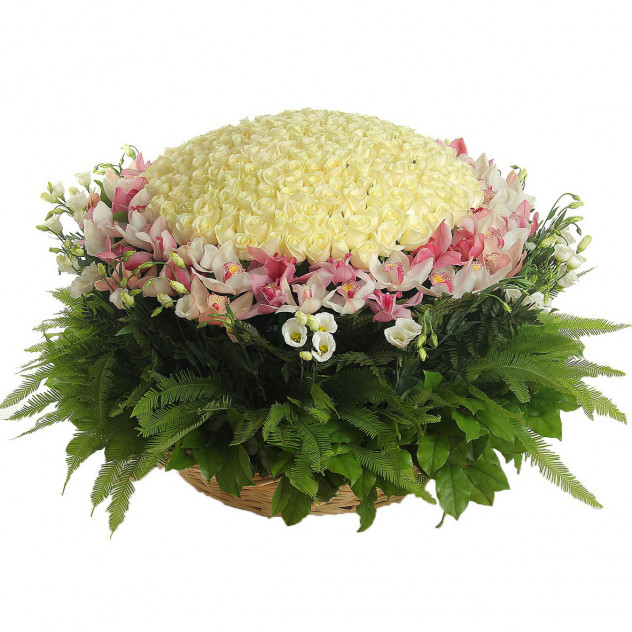 Basket with flowers number 2