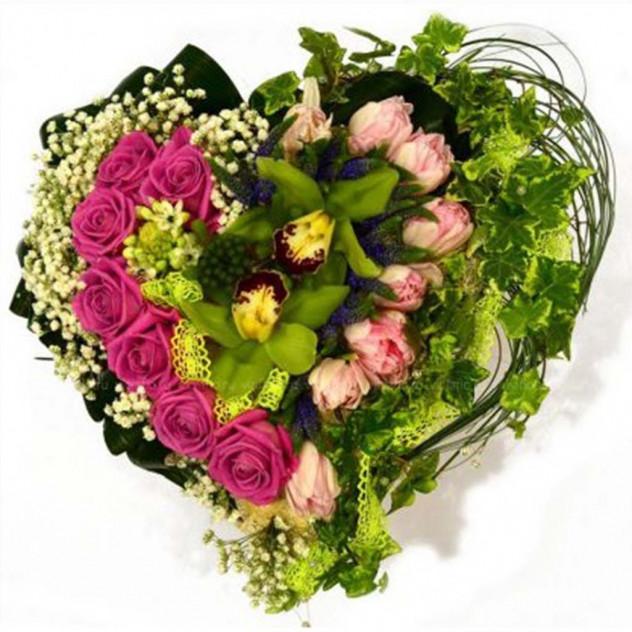 Arrangement of flowers No. 18