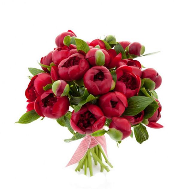 Bouquet of 25 peonies No. 2