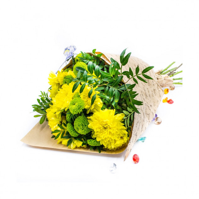 Bouquet of 7 chrysanthemums No. 2
