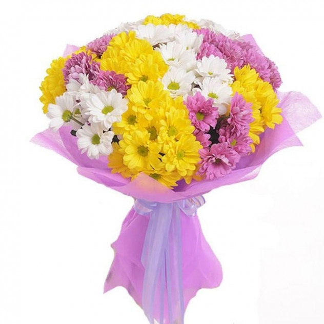 Bouquet of 15 Chrysanthemums