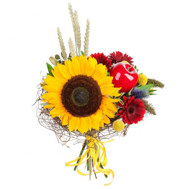 Bouquet with a sunflower number 2