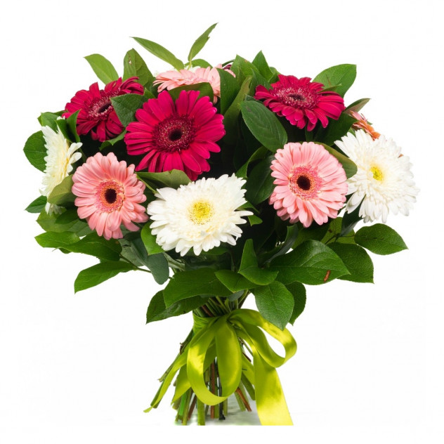 Bouquet of 15 gerberas