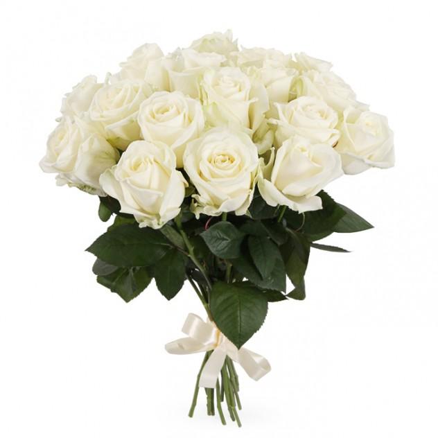 Букет 21 роза Мондиал