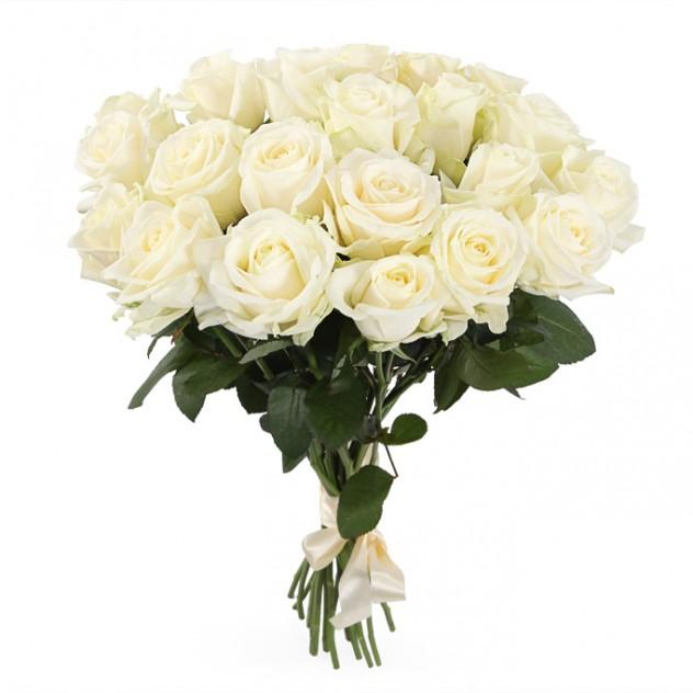 Букет 21 роз Аваланш