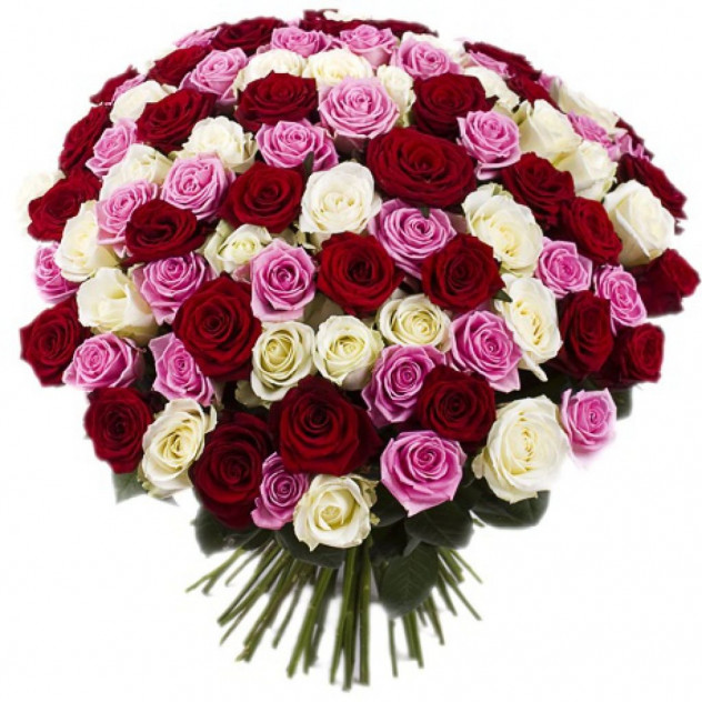 Подарочный букет из роз.