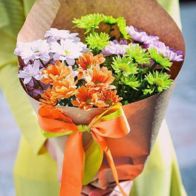 Bouquet spring mood