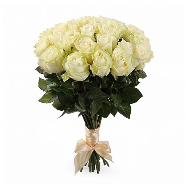Букет из 25 элитных Эквадорских роз.