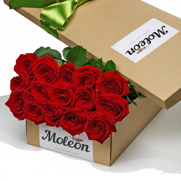 Розы в коробке открытка, картинка доброй