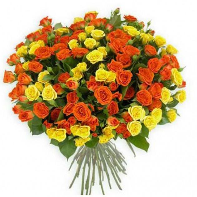 Bouquet of spray roses No. 9
