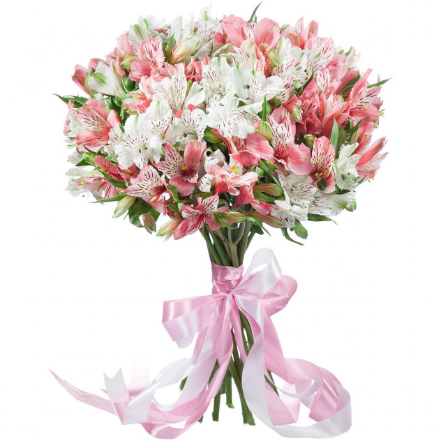 Bouquet of alstromeries number 2