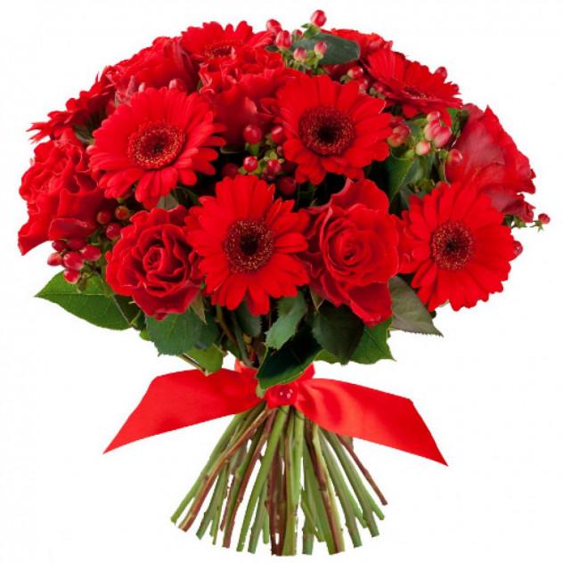 Bouquet of gerberas № 7