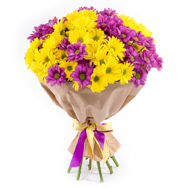 Bouquet of 15 chrysanthemums No. 2