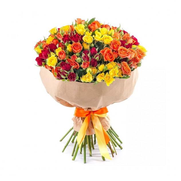 Bouquet of spray roses No. 7