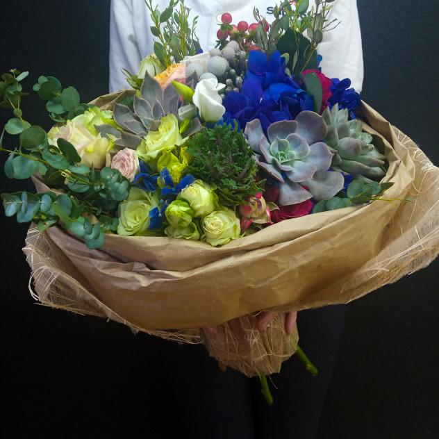 Bouquet No. 233 with Echeveria